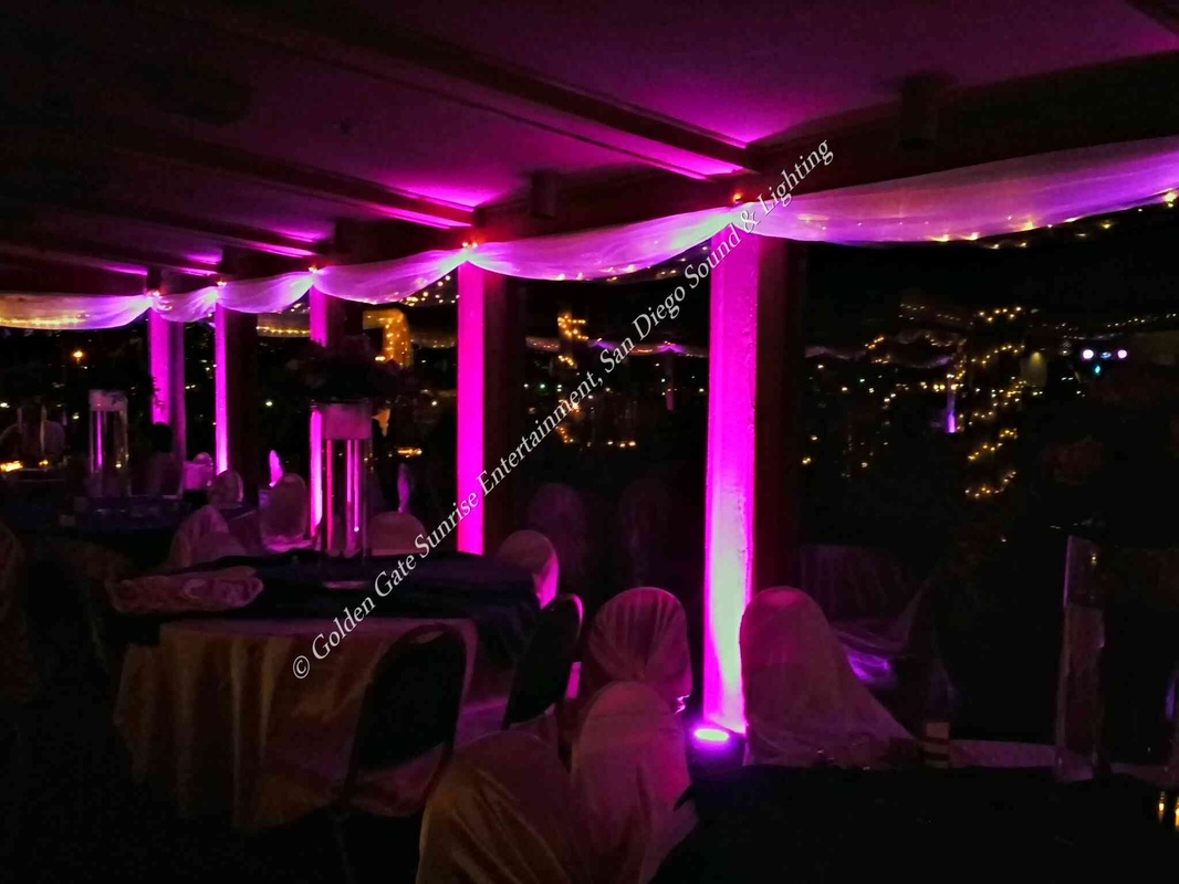 Wedding Lighting Al Decorations Led Uplighting Dj